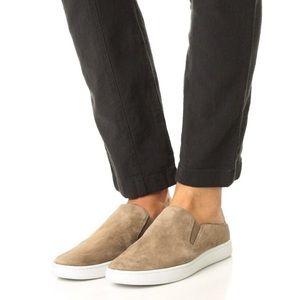 Vince Verrell Slide Sneakers Suede Leather mule 9